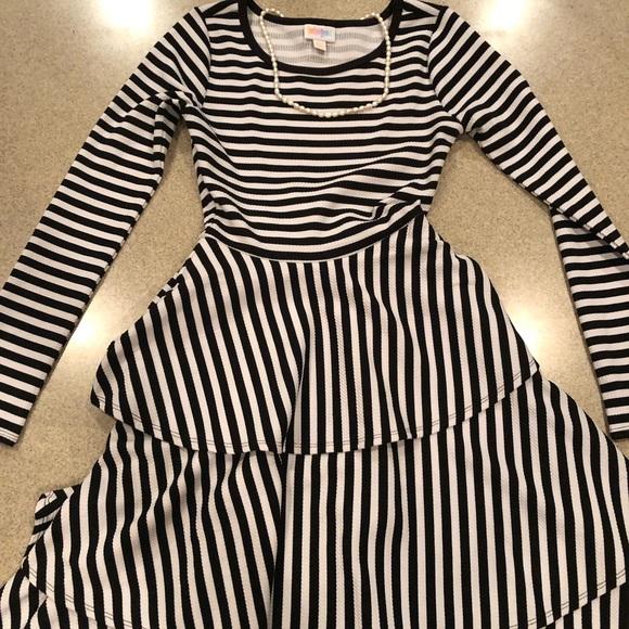 b7040177e620e Dresses | Xxs Lularoe Georgia Long Sleeve Dress | Poshmark
